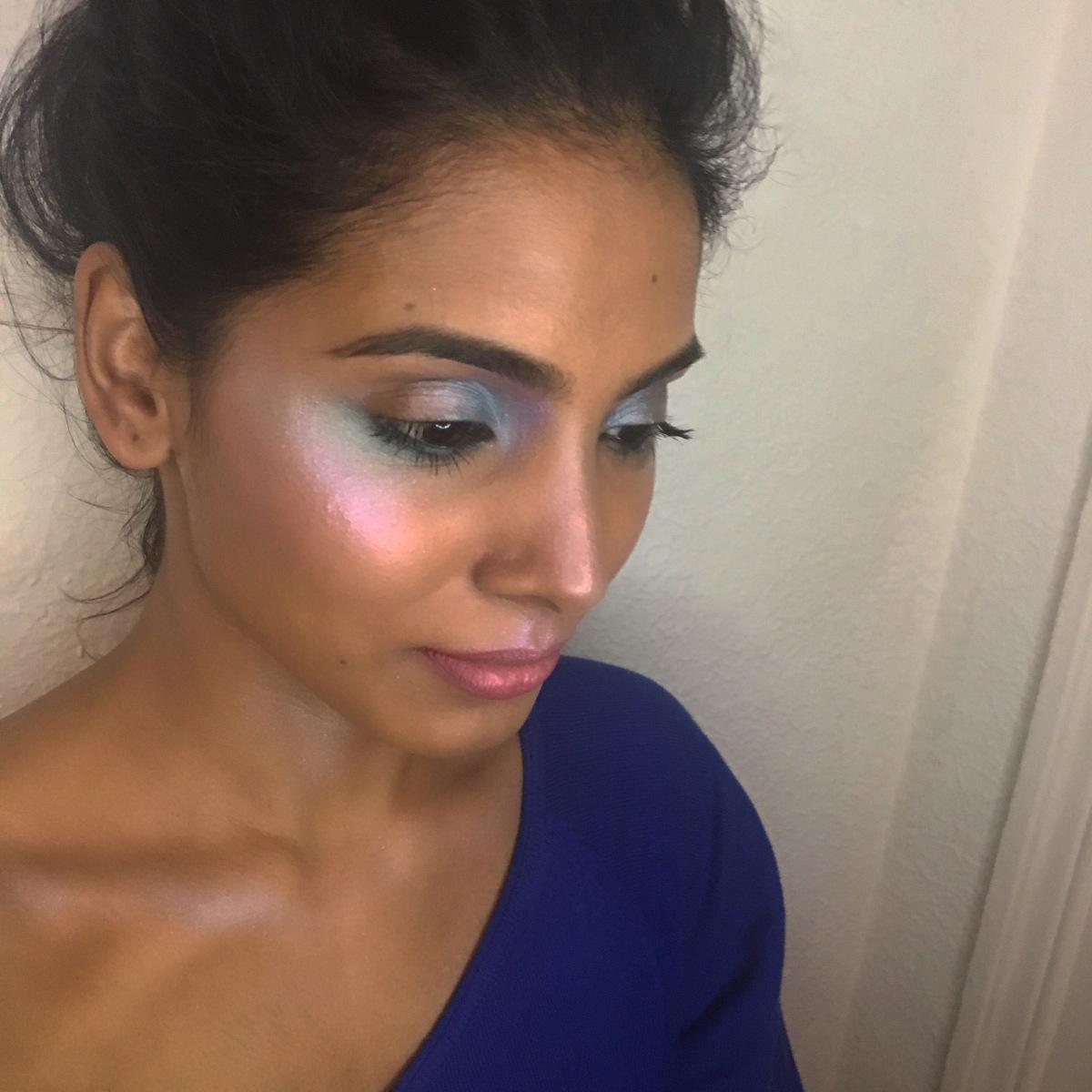 Post Holiday Season Glow- Holographic Skin!