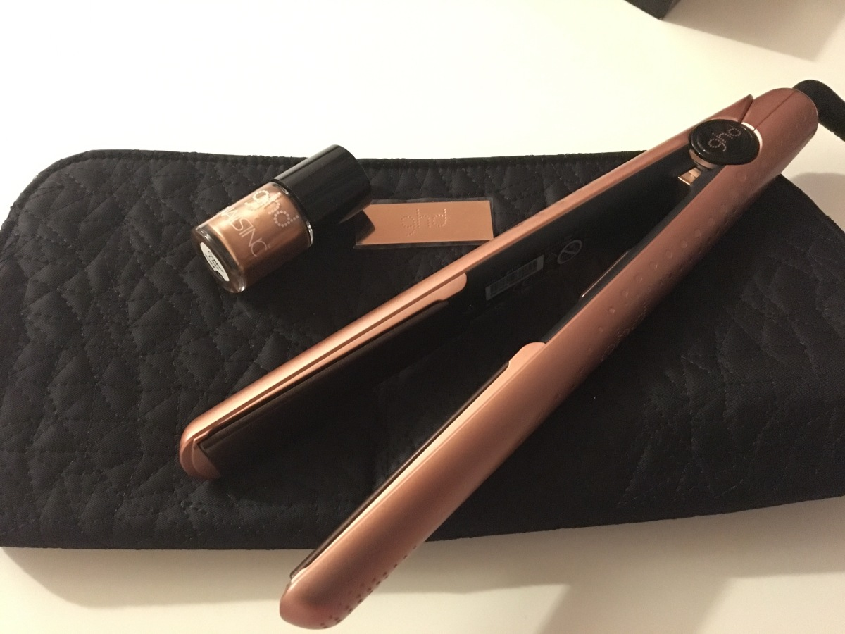 New Copper Luxe GHD Straightner Review.
