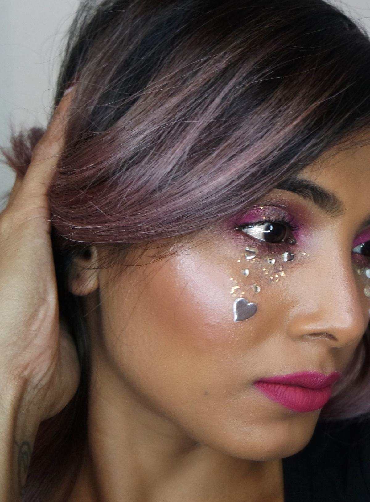 Love Tears MakeupLook.