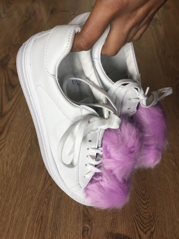 pom pom sneakers Summer Fashion Trends 2017