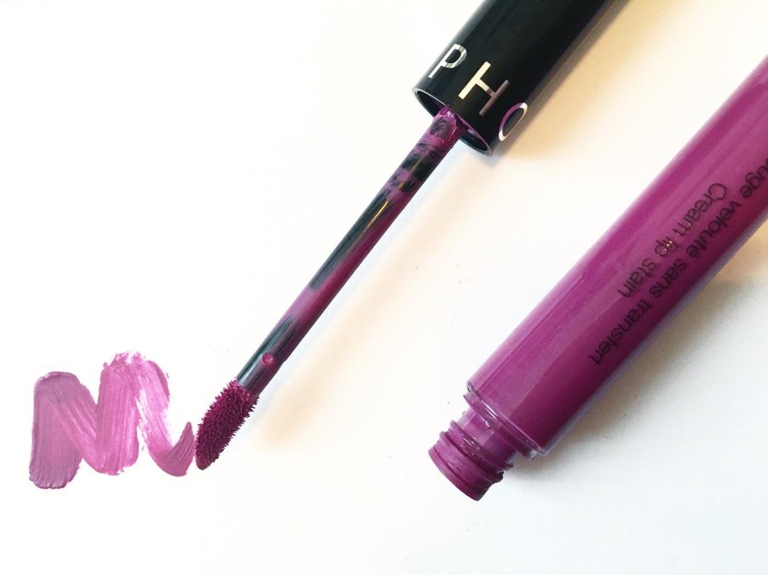 Sephora Liquid Matte Lipstick.