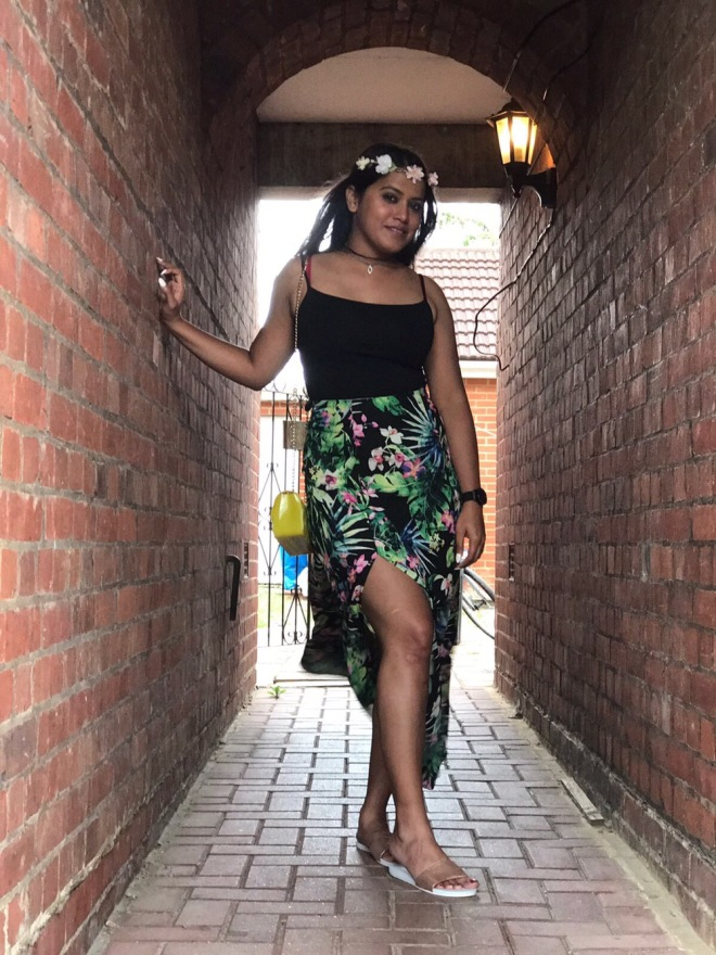 summer fashion flower prints