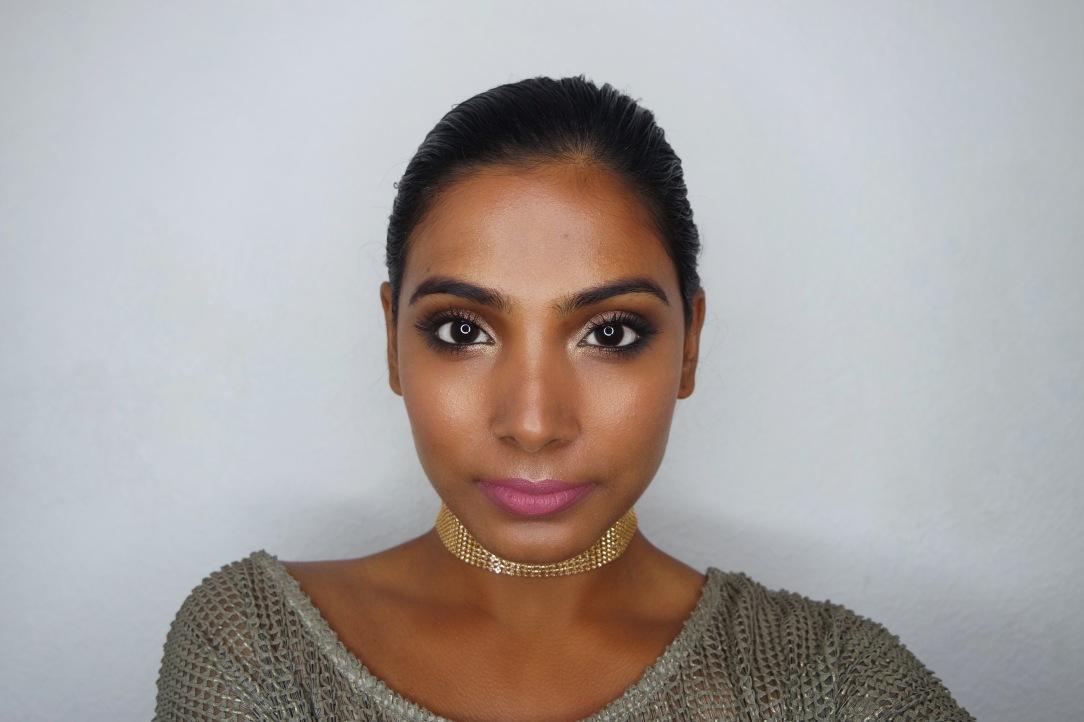 Summer Bronze and Gold Makeup