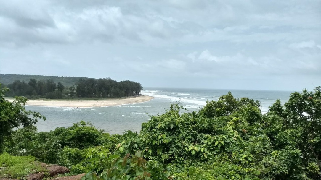 VIEW FROM  Fort Tiracol Heritage Hotel Goa