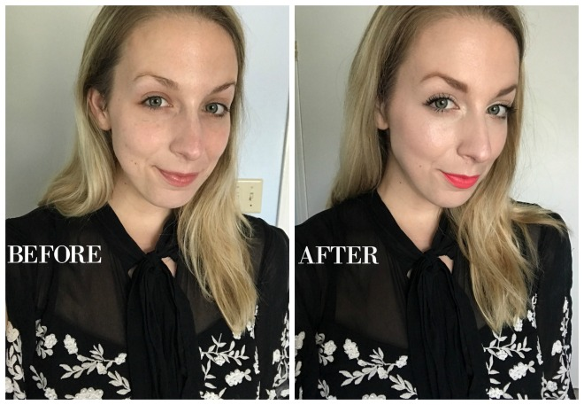 summer glowy makeup tutorial MAKEUP BEFORE AND AFTER