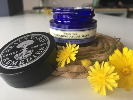 Chai & Lipstick- skincare review Neal yard remedies