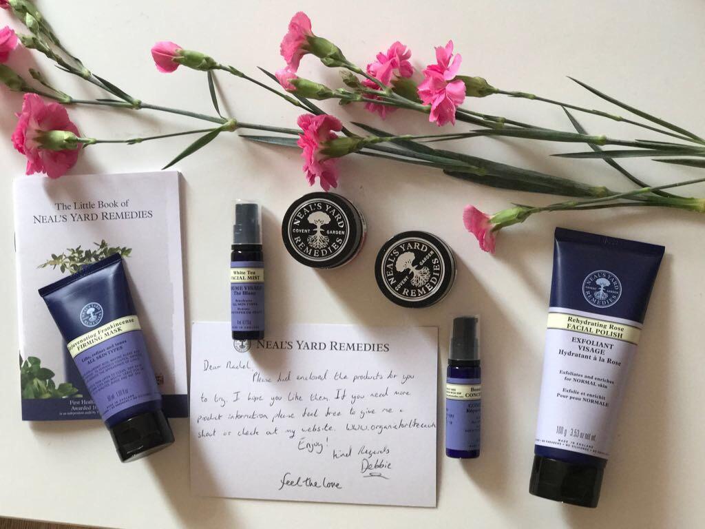 Chai & Lipstick- skincare review Neal yard remedies