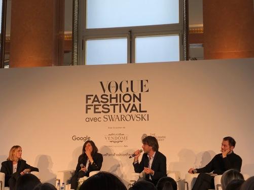 Chai & Lipstick blogger at Vogue Fashion Festival Paris 2017