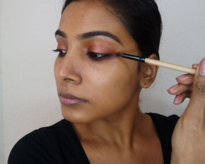 Holiday Rosegold Makeup