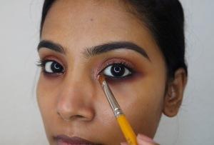 Holiday Rosegold Makeup