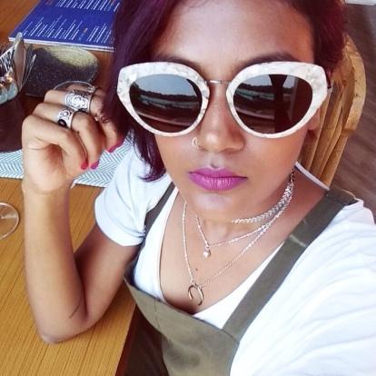 Cocoleni Goa chai & lipstick