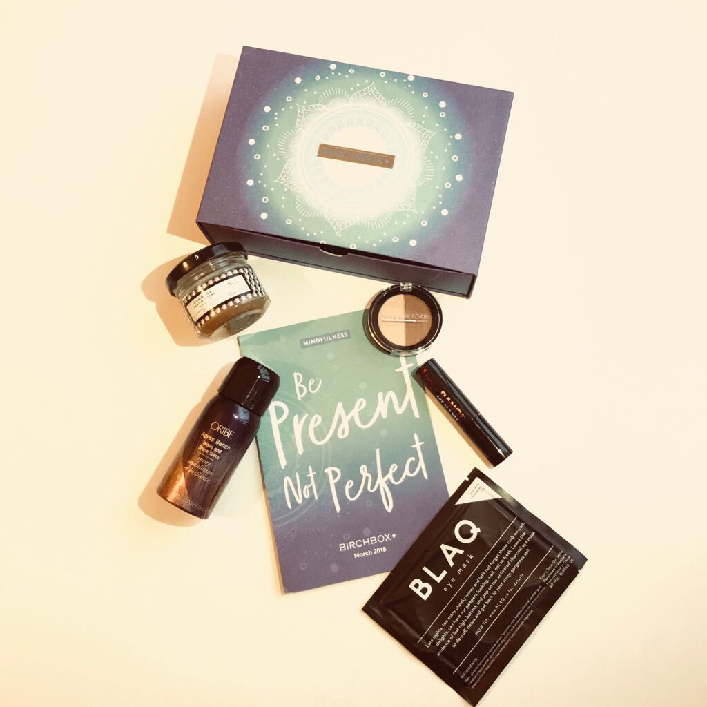 What's in the Birchbox –February/March