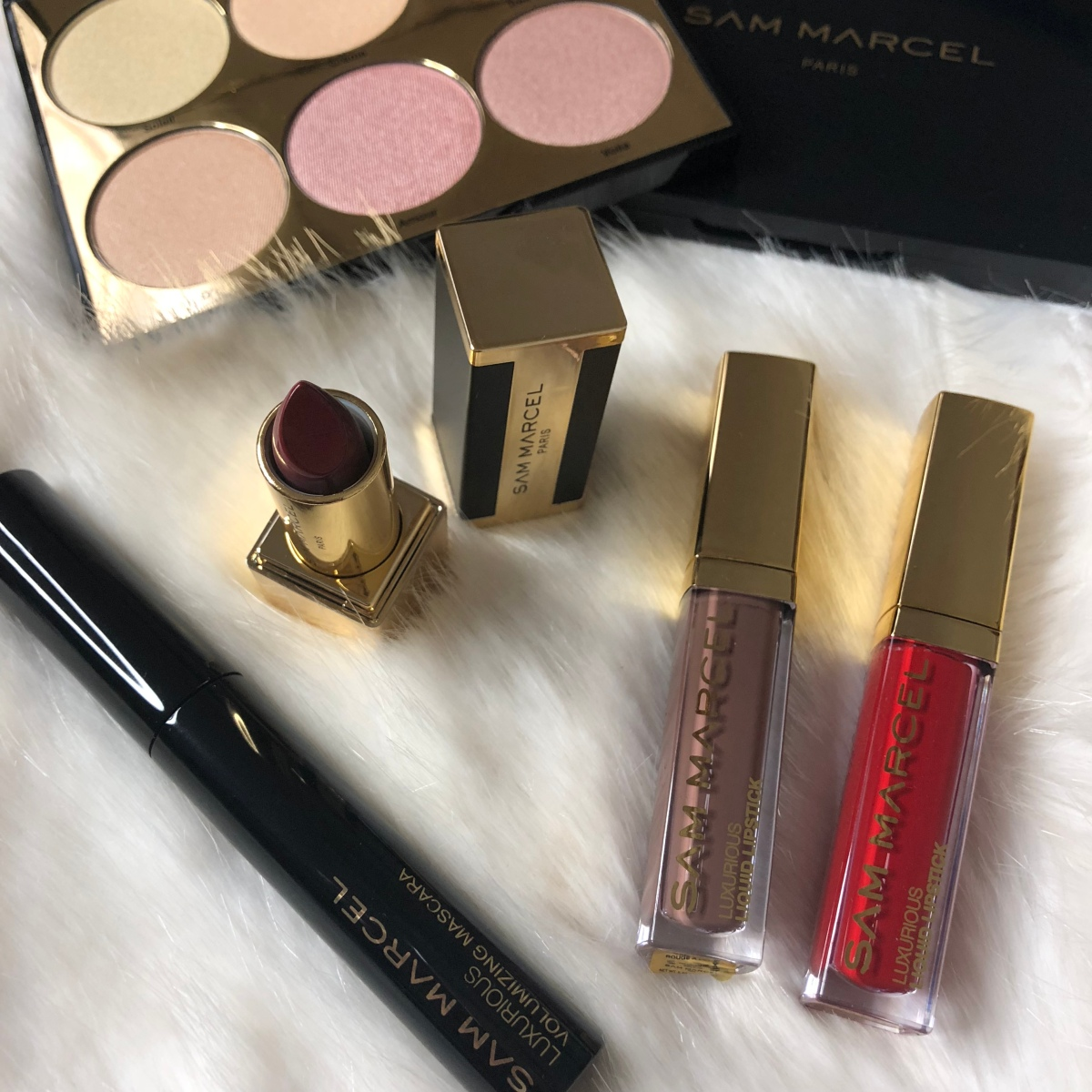 Discover Sam Marcel makeup with me!