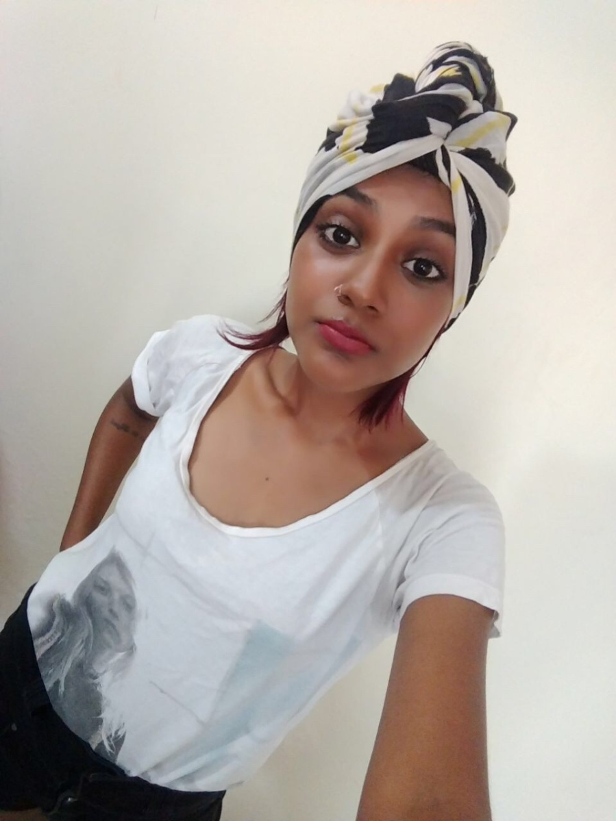 Super easy way to drape a turban!