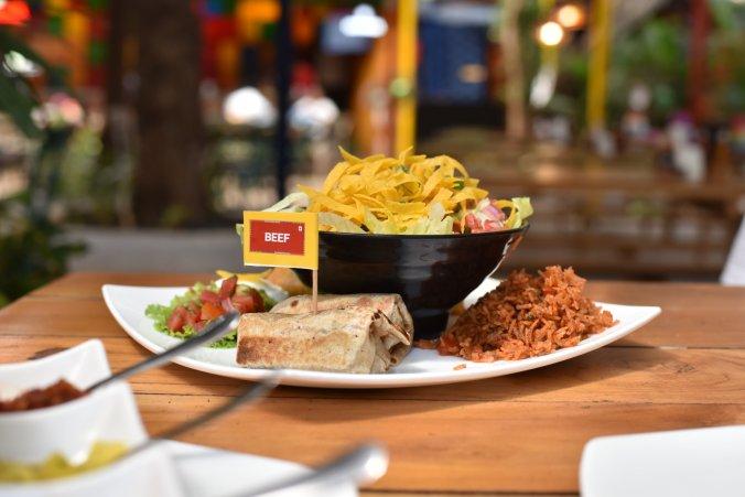 Food at Habanero Goa
