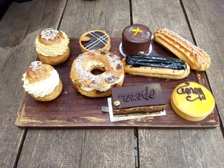 french pastries goa