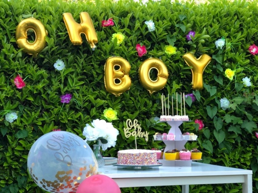 SPRING THEME BABY SHOWER