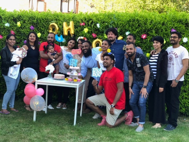 spring themed baby shower ideas