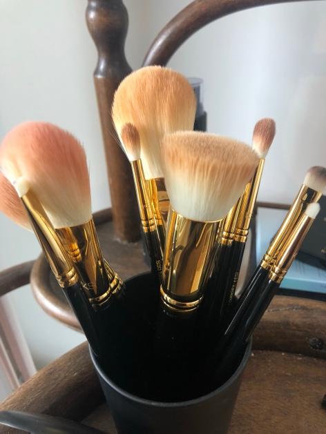 makeup brushes kit stars